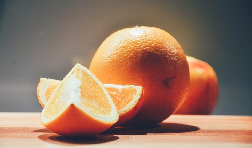 vitamina C din portocale