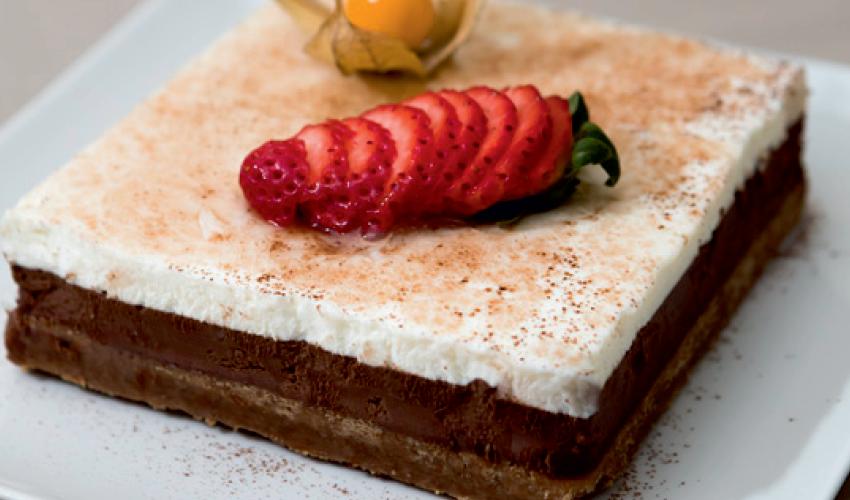 Naturtarta ciocolată și vanilie