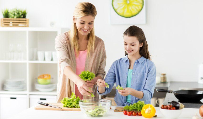 fructe și legume în alimentația copiilor