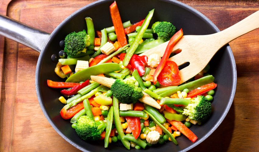 legumele la tigaie
