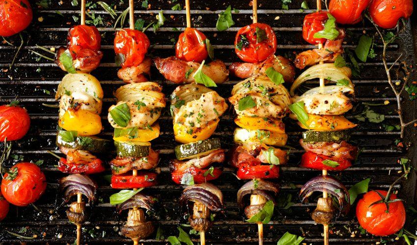 mâncăruri sănătoase la grătar
